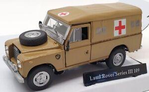 Cararama 1/43 Scale Model Car CR037 - Land Rover Series III 109 - Camo