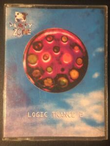 Logic Trance 2  MTV Party Zone - 1994 Double Cassette Trance UK 1994 VG/VG