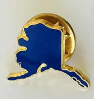 Alaska North America United States Souvenir Pin Badge Vintage (C1)