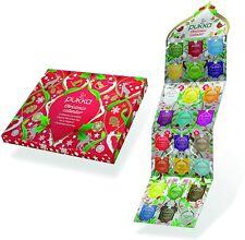 Pukka Té de Hierbas selección de navidad Adviento Calendario Diseño Rojo
