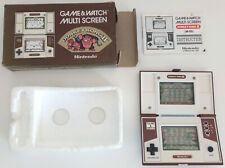 NINTENDO GAME WATCH DONKEY KONG II. JR-55 BOXED & PAPERS. EXTRA FINE CONDITION !