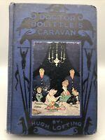 Hugh Lofting DOCTOR DOLITTLE'S CARAVAN 1st edition 1926