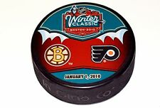 2010 NHL Winter Classic Dueling Style Puck Boston Bruins vs Philadelphia Flyers