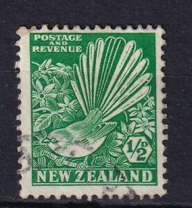 NEW ZEALAND 1935 1/2d green VFU (0531a)