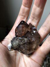 74g Elestial Quartz Crystal Smoky Quartz Smoky Elestial Brazil Quartz Natural