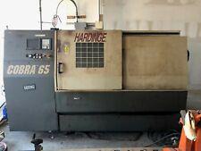 Used Hardinge Cobra 65 Cnc Lathe Turning Center, Used Sold As Is Customer Pickup