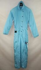 SILVRETTA VINTAGE WOMENS PADDED SKI SUIT ONE PIECE  EU-44 ALL IN ONE SNOW SUIT
