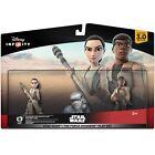 Star Wars The Force Awakens Play Set Rey And Finn Figures Disney Infinity 3.0