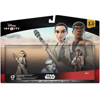 Star Wars The Force Awakens Play Set Rey And Finn Figures Disney Infinity 3.0