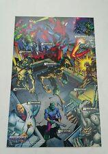 Spiderman masterprints fleer 1994  ( enemies l )