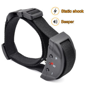 Petrainer Anti Bark Shock Dog Trainer Stop Barking Control Pet Training Collar