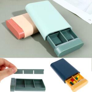 1PC Portable Nordic Style Pill Box Tablet Pillbox Dispenser Medicine Boxzh
