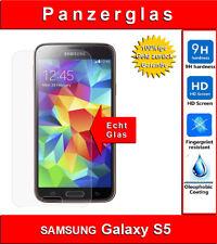 Samsung Galaxy S5 Panzerglas 9H Glas Schutzfolie Echtglas Folie Panzerfolie