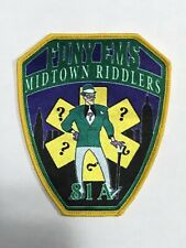 """FDNY EMS 81A """"MIDTOWN RIDDLERS"""" Patch.(Brand New)"""