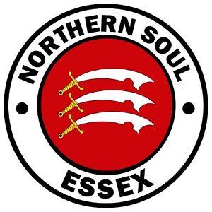 Northern Soul ( Essex) Novità Auto/Finestrino/Adesivo Interno Adesivi Plus 1