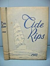 1955 Tide Rips, United States Coast Guard Academy, New London, Conn. Yearbook