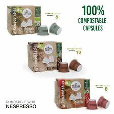 Nespresso Compatible Coffee Pods 200 Capsules Gourmet Espresso Premium Blend