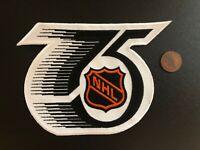 "1991-1992 75th NHL Anniversary Hockey 5 1/4"" Logo Patch"