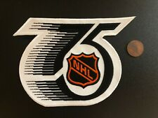 "1991-1992 75th NHL Anniversary Hockey 5 1/4"" Logo Patch"