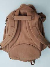 Cote & Ciel Isar Rucksack Brown Brushed Canvas Backpack