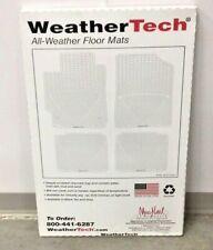 WeatherTech W39 All Weather Black Front Floor Mat Lexus GX 2003-2013