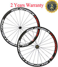 Superteam 38mm Carbon Wheels Bicycle Cycling Match Wheels Clincher 3k Matte 700C