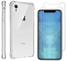 For Apple iPhone X XR  XS MAX Ultra Thin Silicone Clear Bumper Rubber Case Cover
