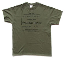 TALKING HEADS - Newcastle City Hall, 1979 tribute T Shirt