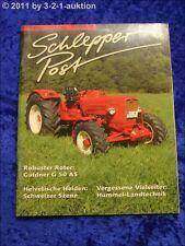 Schlepper Post 6/06 Linde Güldner G 50 AS Hummel Landtechnik