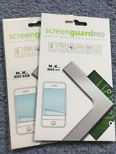 2 x Nexus Screen Guard Pro ANTIGRAFFIO PROTEGGI SCHERMO per Nokia N95 8 GB