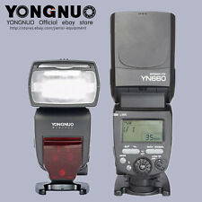YongNuo GN66 2.4GHZ  flash speedlite YN660 for Canon 7D,6D 5D Mark III,II,7DII