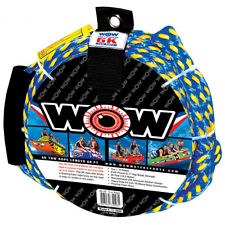 60' Tow Rope Rider Towable Inflatable Heavy Duty Tube Towable Water Pulling 6k