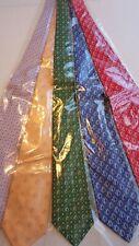 "New, mulitcolor Men's necktie monogram ""B"" Lot of 5 pcs ; BPeGBuR"