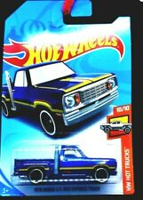 HOT WHEELS / 1978 Dodge Li'l Red Express Truck (Metallic Blue) - Mint on card.