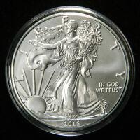 2019 Silver Dollar American Eagle BU , 1 OZ 999 , Deluxe Air-Tite