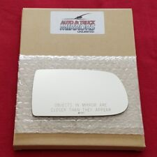Mirror Glass + Adhesive For Mazda Protege, Protege5 Passenger Side Replacement