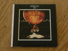 Jethro Tull:Bursting Out Live Japan 2 CD Mini-LP TOCP-67367-68 SS(ian anderson Q