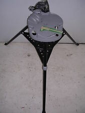 New Portable Hydraulic Cylinder Repair Tri Stand With Chain Vise Plastic Caliper