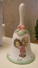 Precious Moments Christmas 2010 Collectors Bell MY HOPE IS IN YOU Girl NIB Rare!