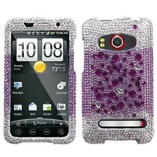 Universe Crystal Diamond BLING Hard Case Phone Cover for Sprint HTC EVO 4G