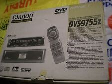 BRAND NEW IN THE BOX OLD SCHOOL RARE CLARION DVS9755Z DVD PLAYER MADE IN JAPAN