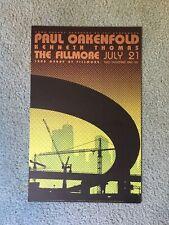 Paul Oakenfeld Fillmore Concert Poster 2006 F793 San Francisco