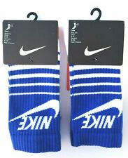 Nike Sportswear Classic Striped HBR Crew Socks fits Men's shoe size 6-8 NWT 2 pr