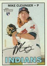 MIKE CLEVINGER ROOKIE 2016 TOPPS HERITAGE #639 ****FREE SHIPPING****