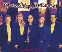 Crash Test Dummies Maxi CD God Shuffled His Feet - Europe (EX+/EX+)