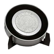1 Kilo Silber Azteken-Kalender Mexiko 2011 PP mit Zertifikat im exklusiven Etui