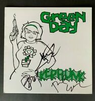 Green Day Band Signed Kerplunk Album with PSA/DNA COA LOA