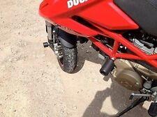 Ducati Streetfighter 1098 09 in poi TAMPONI PARAMOTORE BOBINE SCORREVOLI A TAPPO