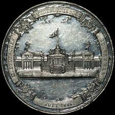 SCHÜTZEN: Zinn-Medaille 1865. II. DEUTSCHES BUNDESSCHIESSEN BREMEN.