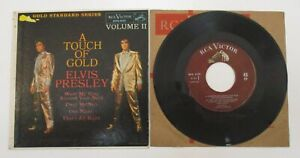 ELVIS PRESLEY A TOUCH OF GOLD VOLUME II 2 MAROON LABEL EP STANDARD RCA EPA-5101